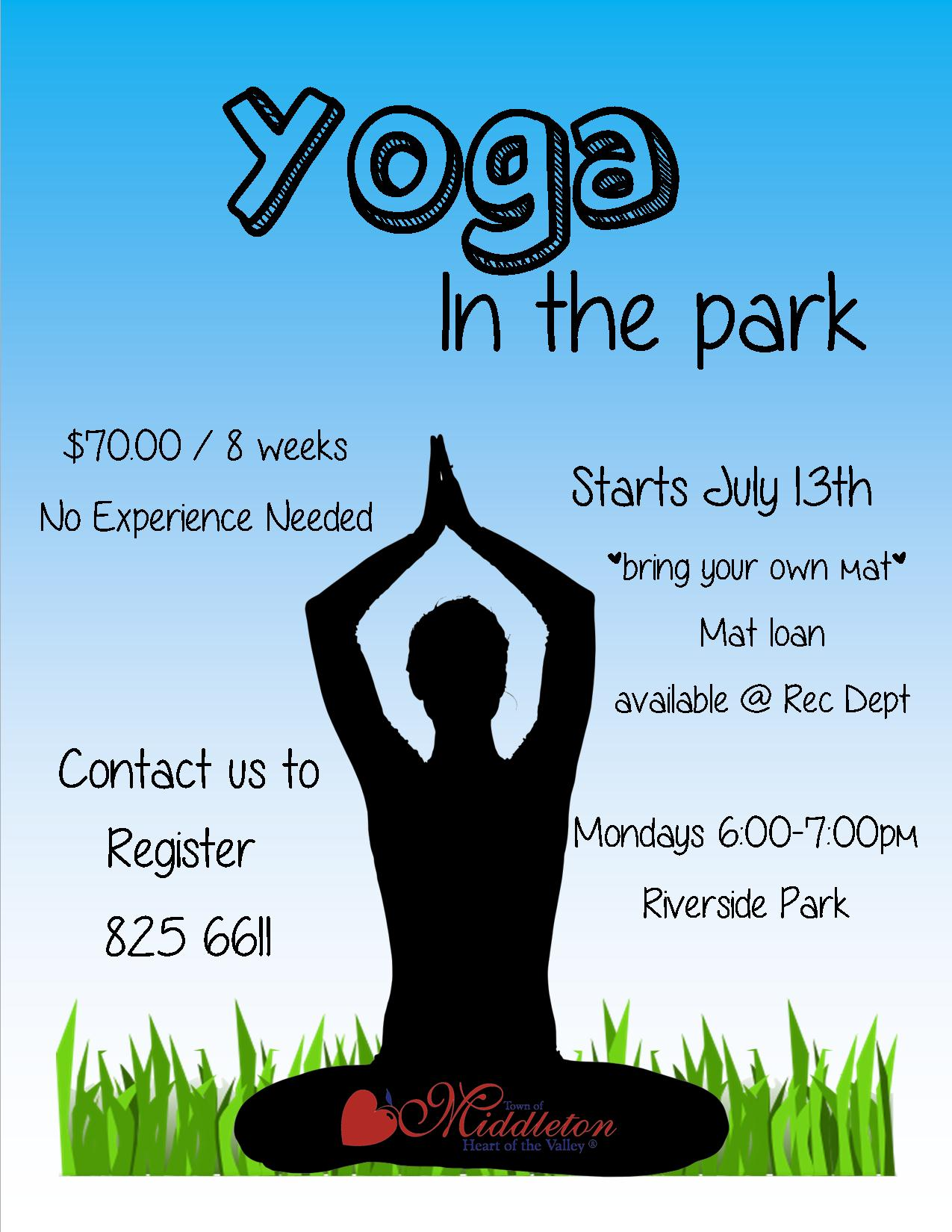 Yoga in the park 2015 Good