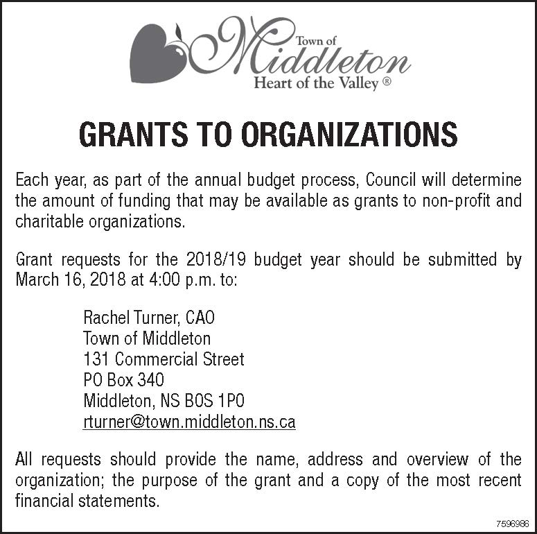 grants to organizations